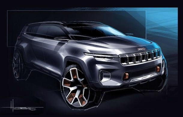 Jeep a dezvăluit conceptul Yuntu, un SUV care ne demonstrează cât de departe poate merge isteria ecranelor multimedia - Poza 2