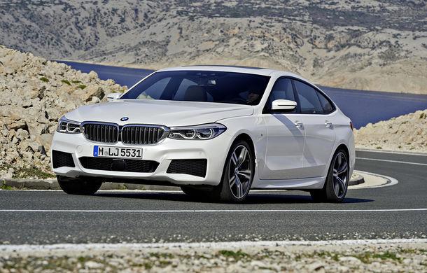 BMW Seria 6 Gran Turismo: înlocuitorul lui Seria 5 GT se prezintă în primele poze oficiale - Poza 2