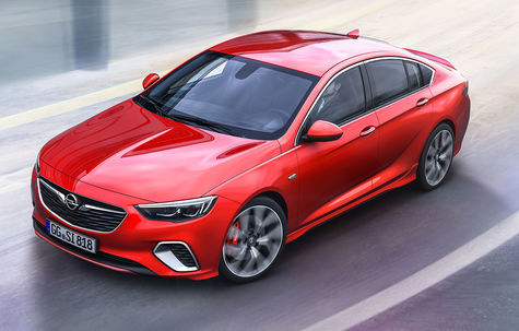 Opel Insignia GSi -