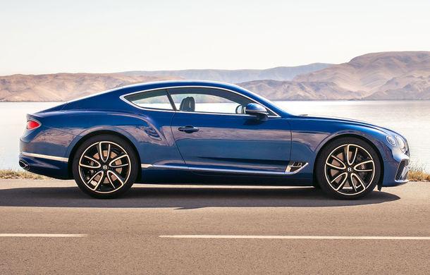 Noul Bentley Continental GT: motor turbo de 6.0 litri și 635 de cai putere și cutie de viteze cu dublu ambreiaj cu 8 trepte (UPDATE FOTO) - Poza 11