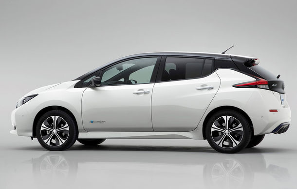 nissan leaf noua genera ie a electricei japoneze are autonomie de 378 de kilometri automarket. Black Bedroom Furniture Sets. Home Design Ideas