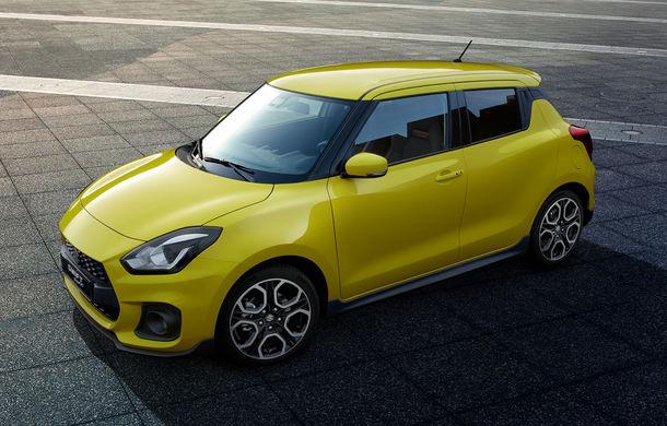 Suzuki a lansat noua generație Swift Sport: 970 de kilograme și motor de 140 de cai - Poza 2