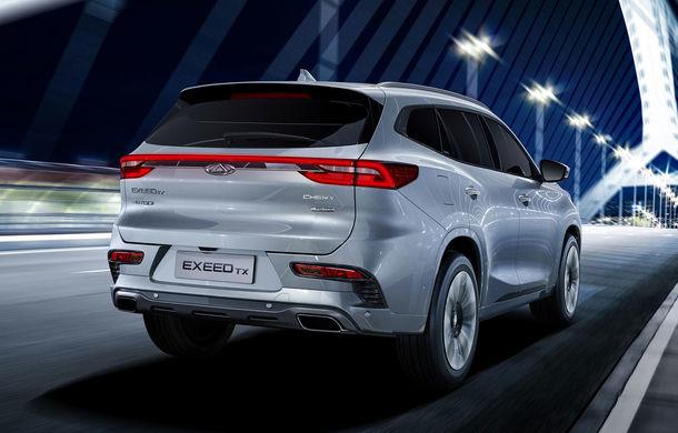 Chinezii de la Chery revin în Europa cu un nou brand: Exeed TX este un SUV plug-in hybrid - Poza 2