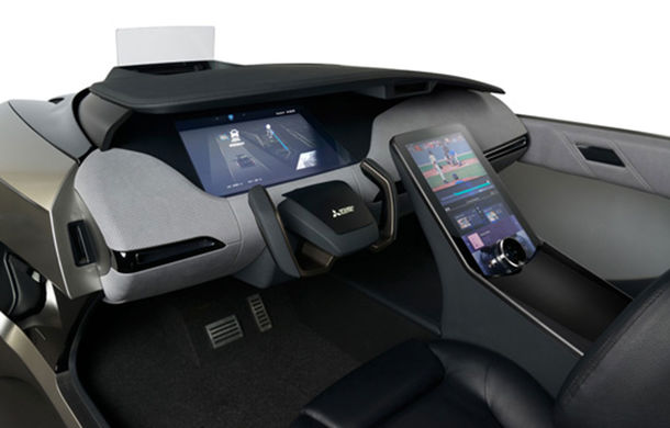 Mitsubishi Electric lansează EMIRAI 4 Concept: prototipul debutează în cadrul Salonului Auto de la Tokyo - Poza 2