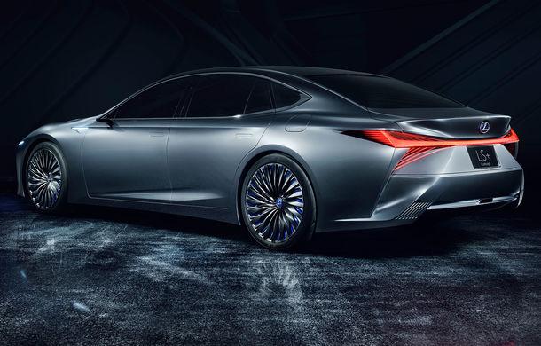 Lexus LS+: conceptul cu funcții autonome care prefigurează designul viitoarelor limuzine Lexus - Poza 2