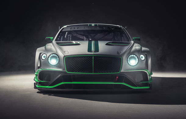 Bentley prezintă noul Continental GT3: are un V8 de peste 550 de cai și este mai ușor cu aproape o tonă față de versiunea de stradă - Poza 2