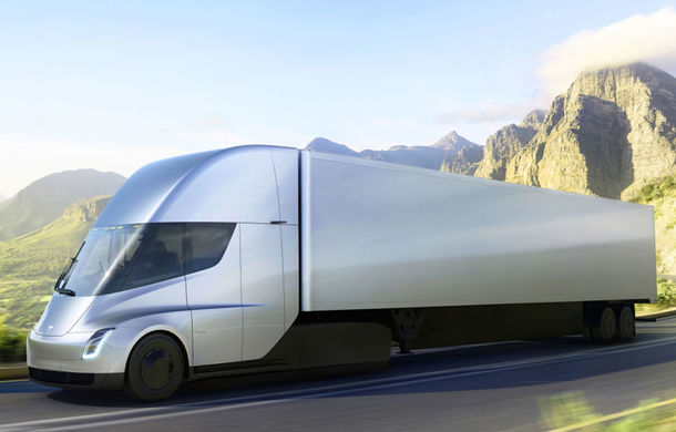 Tesla Semi: capul tractor pregătit de americani are o autonomie de peste 800 de kilometri și ajunge la 96 km/h în 5 secunde - Poza 2