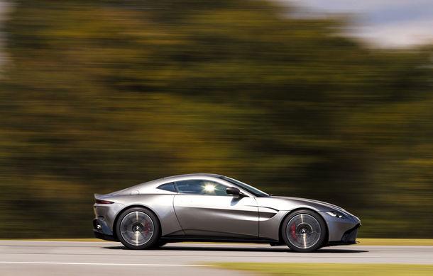 God Save the Queen: noul Aston Martin Vantage se prezintă oficial cu 510 CP și 3.6 secunde pentru 0-100 km/h - Poza 2