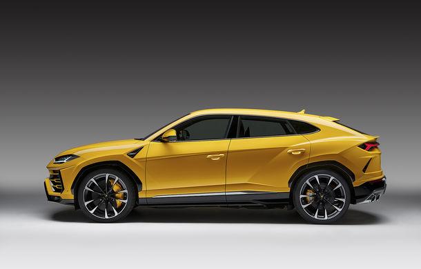 Lamborghini a lansat SUV-ul Urus: 650 CP, 850 Nm, tracțiune integrală și 0-100 km/h în 3.6 secunde - Poza 2