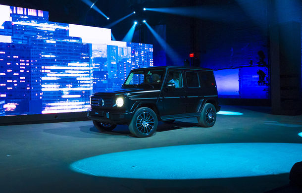 Mercedes-Benz Clasa G: noi imagini teaser cu modelul care debutează în 15 ianuarie - Poza 3