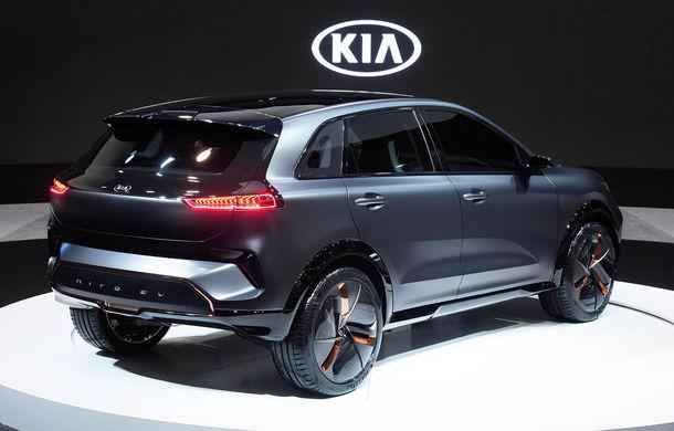 Kia Niro EV Concept a fost prezentat oficial: SUV-ul electric are o autonomie de peste 380 de kilometri și un interior cu tehnologii moderne - Poza 2