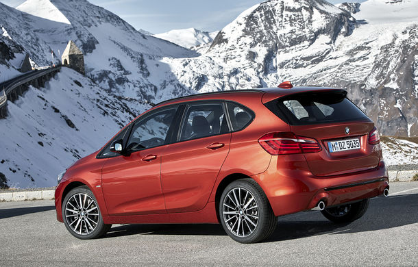 Facelift pentru BMW Seria 2 Active Tourer și Seria 2 Gran Tourer: mici îmbunătățiri exterioare și introducerea transmisiei cu șapte trepte și dublu ambreiaj - Poza 2