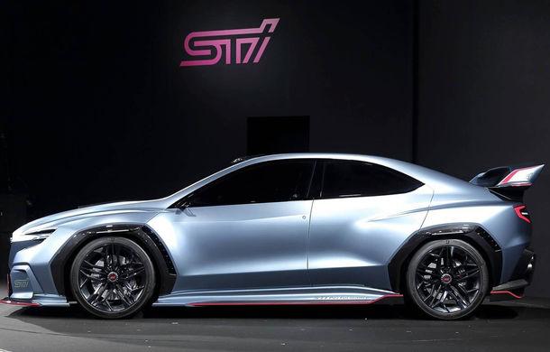 Subaru Viziv Performance STI: conceptul care anticipează lansarea lui WRX STI a fost dezvăluit oficial - Poza 2