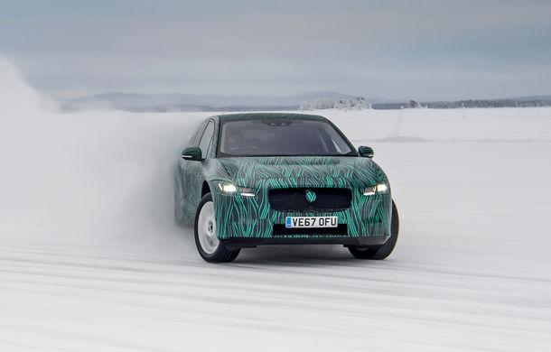Jaguar a lansat SUV-ul electric I-Pace: rivalul lui Tesla Model X are 400 CP și o autonomie de 480 de kilometri - Poza 2