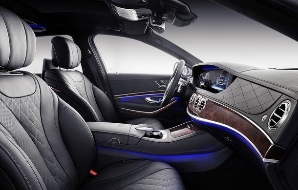 Mercedes-Maybach Clasa S primește un facelift: schimbări la grilă și un ampatament cu 20 de centimetri mai lung față de Clasa S - Poza 2