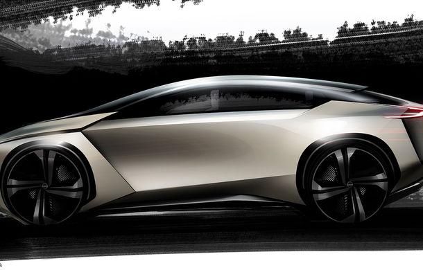 Nissan IMx Kuro: debutul european pentru conceptul autonom ce anunță un SUV electric de 435 CP și autonomie de 600 de kilometri - Poza 2