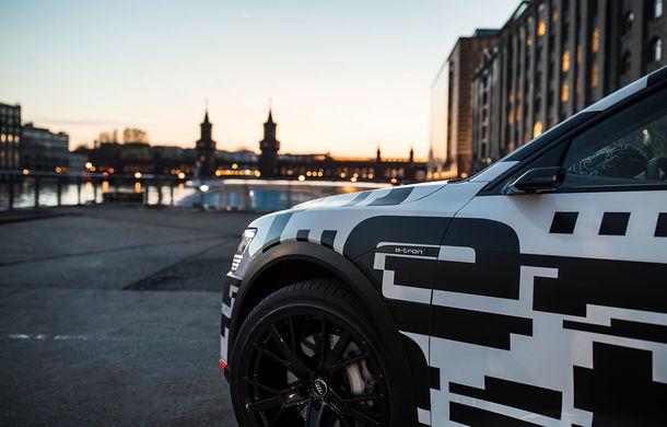 Audi România primește comenzi pentru noul SUV electric e-tron: rezervare pentru 1.000 de euro plus TVA, lansare în 2019 - Poza 2