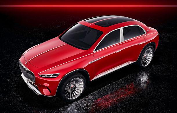 Informații și fotografii oficiale cu noul Vision Mercedes-Maybach Ultimate Luxury: crossover electric cu 750 CP și autonomie de peste 500 de kilometri - Poza 2