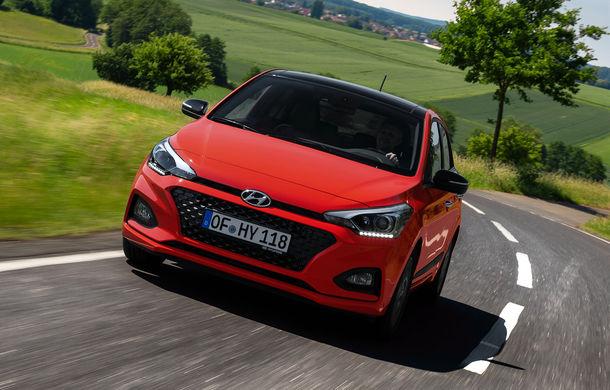 Hyundai i20 facelift: subcompacta renunță la diesel, dar primește pentru prima oară cutie de viteze automată cu dublu ambreiaj - Poza 2
