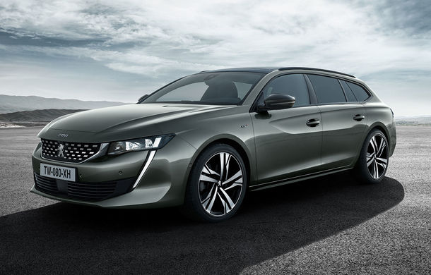 Noul Peugeot 508 SW: break-ul are dimensiuni mai mici și preia designul spectaculos al sedanului - Poza 2