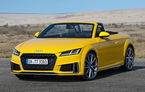 Audi TT Roadster facelift