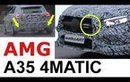 VIDEO: Viitorul Mercedes-AMG A35 a fost surprins în timpul testelor: modelul german va avea 300 CP