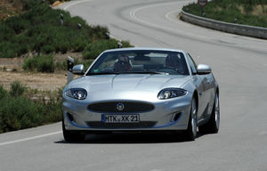XK Convertible facelift