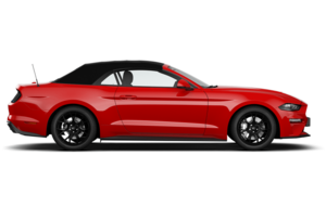 Mustang Convertible facelift