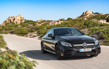 Mercedes-Benz Clasa C Coupe facelift