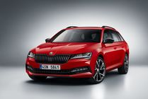 Skoda Superb Combi facelift