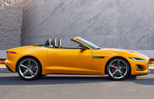 Jaguar F-Type Cabrio facelift
