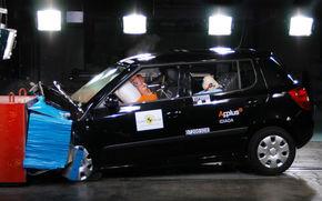 Noua Fabia a dezamagit la testele EuroNCAP
