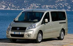 Fiat Scudo -  Van of the Year 2008