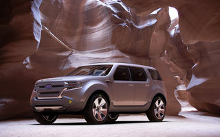 Ford la Detroit: Explorer America Concept