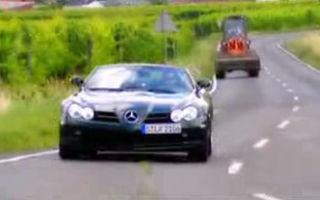 VIDEO: Drive test cu Mercedes SLR Roadster