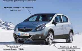 Opel pregateste un Corsa SUV