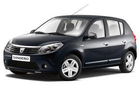 Premiera Dacia: Sandero si noul logo