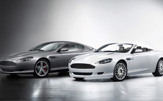 Aston Martin DB9, retusat la Geneva