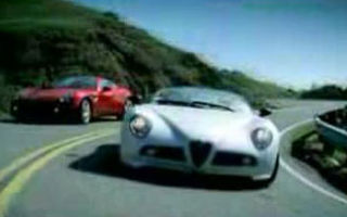 VIDEO: Alfa Romeo 8C Spider