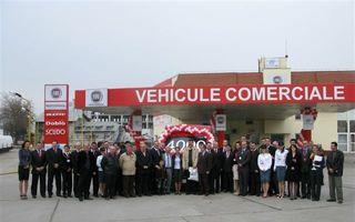 Centru de vehicule comerciale Fiat