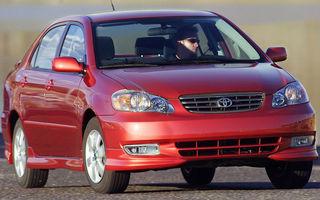 Recall de 550.000 de unitati Toyota in SUA