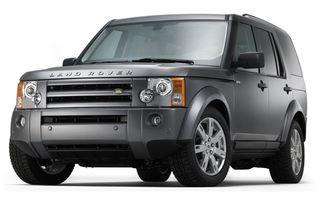Facelift subtil pentru Land Rover Discovery 3