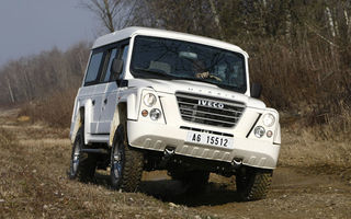 Iveco lanseaza noua gama off-road in Romania
