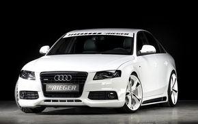 Tuning agresiv pentru noul Audi A4