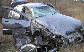Accident la 100 de km/h intr-un model chinezesc