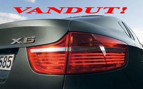 BMW X6, vanzari lichidate!
