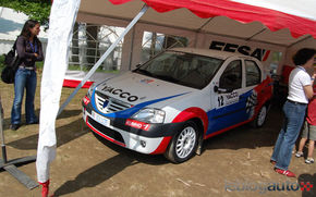 Francezii au inventat Logan Cup Rallycross
