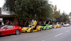 California, primul birou Lamborghini in afara Italiei