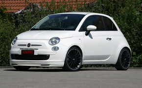 Fiat 500 restilizat de Novitec