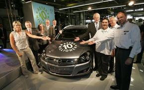 Productia Opel Astra a depasit 10 milioane de unitati